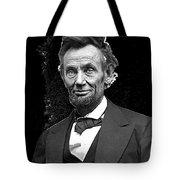 Abraham Lincoln 2  Alexander Gardner Photo Washington Dc  February  1865 Tote Bag