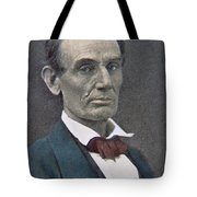 Abraham Lincoln Tote Bag by American Photographer