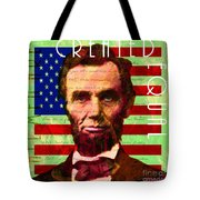 Abraham Lincoln Gettysburg Address All Men Are Created Equal 20140211p68 Tote Bag