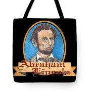 Abraham Lincoln Graphic Tote Bag by John Keaton