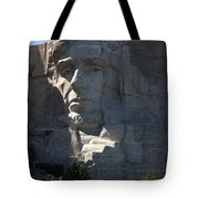 Abraham Lincoln Mount Rushmore National Monument Tote Bag