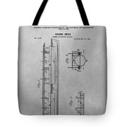 Abraham Lincoln Patent Drawing Tote Bag