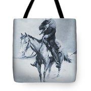 Abraham Lincoln Riding His Judicial Circuit Tote Bag