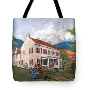 Abraham Lincoln's Ancesteral Home Tote Bag
