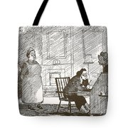 Absence Of Ideas For Meals Tote Bag