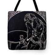 Absinthe Drinker After Picasso Tote Bag