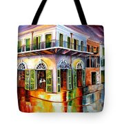 Absinthe House New Orleans Tote Bag