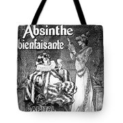 Absinthe Poster, 1892 Tote Bag