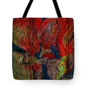 Abstract - Emotion - Annoyance Tote Bag