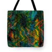 Abstract - Emotion - Apprehension Tote Bag