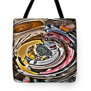 Abstract - Vehicle Recycling Tote Bag