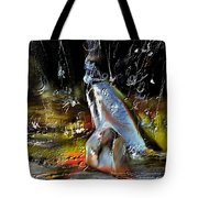 Abstract 1 Tote Bag by Francoise Dugourd-Caput