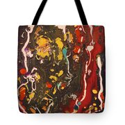 Abstract 13 - Life On The Ocean Floor Tote Bag