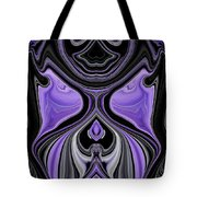 Abstract 166 Tote Bag by J D Owen