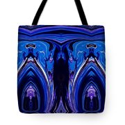 Abstract 178 Tote Bag by J D Owen