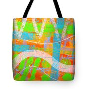 Abstract  23614   Diptych  I  Tote Bag