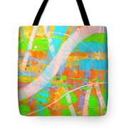 Abstract 23614  Diptych  II Tote Bag