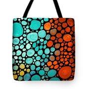 Mosaic Art - Abstract 3 - By Sharon Cummings Tote Bag