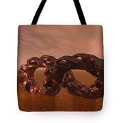 Abstract 331 A 3d Copper Sculpture Tote Bag