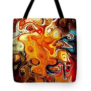 Abstract 351-07-13 Marucii Tote Bag by Marek Lutek