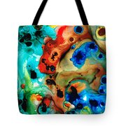 Abstract 4 - Abstract Art By Sharon Cummings Tote Bag by Sharon Cummings