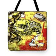 Abstract 889 Tote Bag