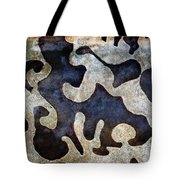 Abstract Alpha Tote Bag