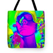 Abstract Andy Tote Bag