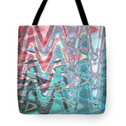 Abstract Approach Iv Tote Bag