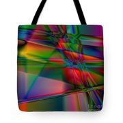 Lineage - Square Abstract Print Tote Bag