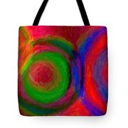 Separate Yet Together - Abstract Art  Tote Bag