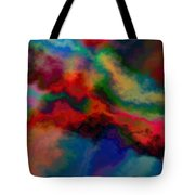 Intrigued - Abstract Art  Tote Bag