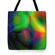 Journey - Square Abstract Art  Tote Bag