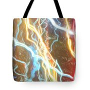 Light Painting - Abstract Art 2 Tote Bag