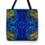 Abstract Art - Center Point - By Sharon Cummings Tote Bag