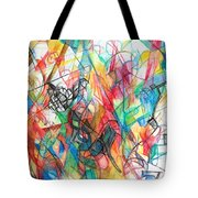 Abstract Art Focused Inward Towards The Divine 4 Tote Bag
