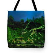 Abstract Art Nature Scenery Tote Bag