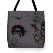Abstract Art On The Beach Tote Bag