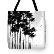 Abstract Art Original Landscape Pattern Painting By Megan Duncanson Tote Bag by Megan Duncanson