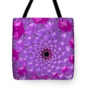Abstract Art Radiant Orchid Pink Purple Violet Tote Bag