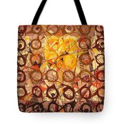 Abstract Art Sixty-six Tote Bag