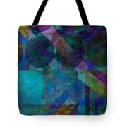 abstract - art - Stripes Five  Tote Bag by Ann Powell