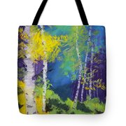 Abstract Aspens Tote Bag