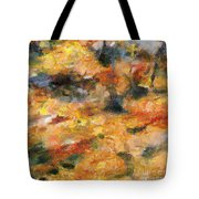 Abstract Autumn 1 Tote Bag