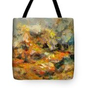 Abstract Autumn 2 Tote Bag