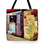 Abstract Barn Base Tote Bag