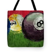 Abstract Billiards  Tote Bag