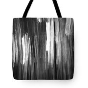 Abstract Black And White Composition Tote Bag