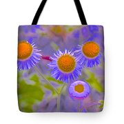 Abstract Blooms Tote Bag