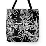 Abstract Blossoms Tote Bag